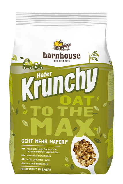 Krunchy Oat to the Max